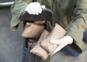 drugs possessed with intention to distribute